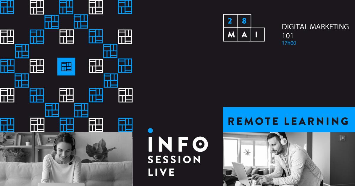 Info Sessions Live - Digital Marketing 101